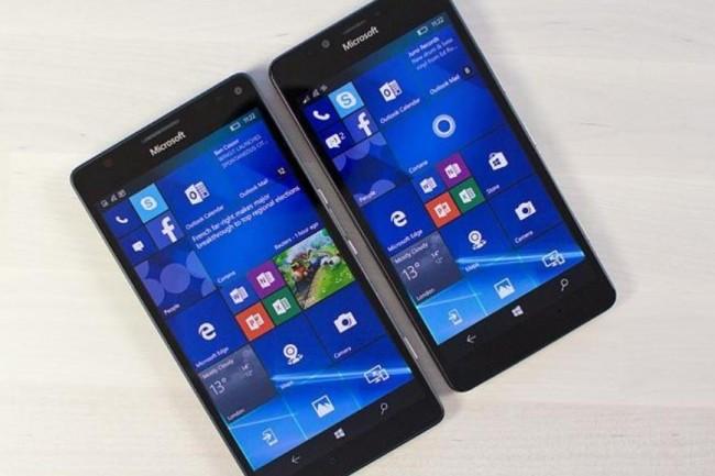 Windows 10 Mobile ne fera plus l'objet de nouveaux développements. Crédit. D.R.