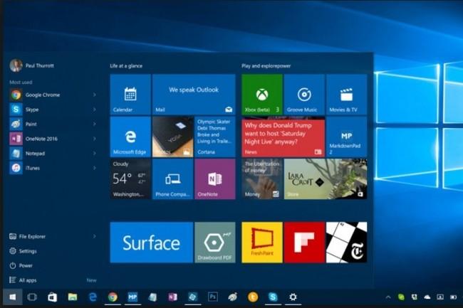 La version 1511 de Windows 10 ne bénéficiera plus de correctifs de bugs et deviendra plus vulnérable aux attaques. (crédit : D.R.)