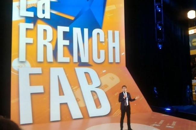 Nicolas Dufourcq, directeur général de Bpifrance, en ouverture de l'événement Inno Generation 3 à Paris jeudi 12 octobre. (crédit : D.F.)