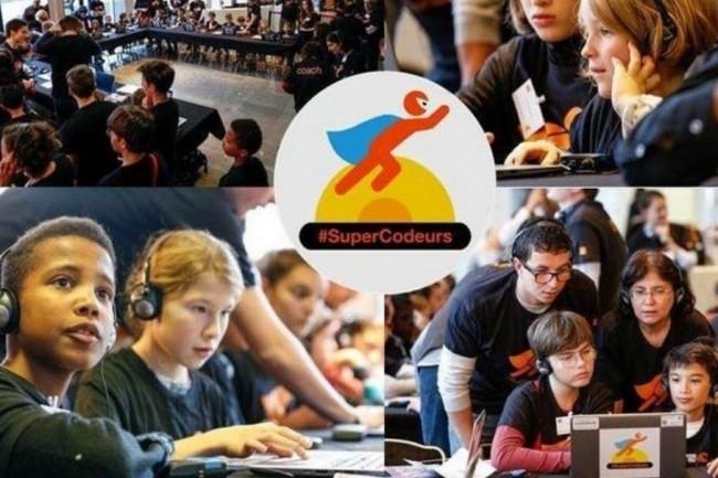 SuperCodeurs permet aux enfants de divers pays de coder tout en s'amusant. (Crédit. D.R.)