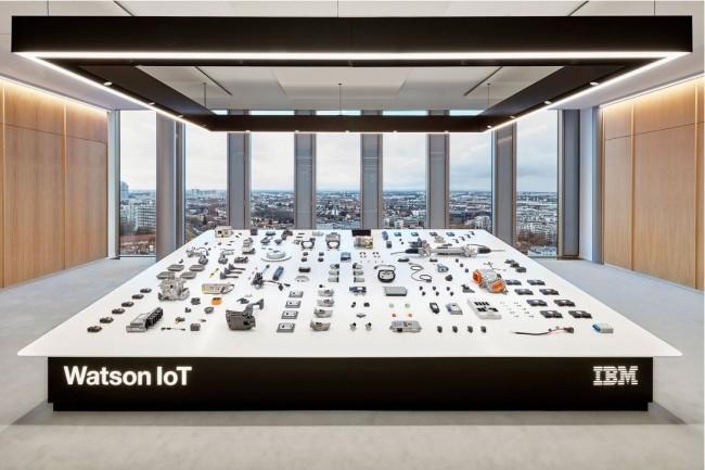 Le centre Watson IoT ouvert par IBM à Munich en décembre 2015. (Crédit : UniversalDesignStudio.com)