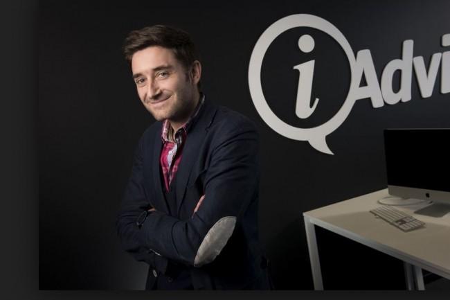 La start-up nantaise iAdvize pilotée par Julien Hervouët vient de réussir une 3eme levée de fonds. Crédit. D.R.