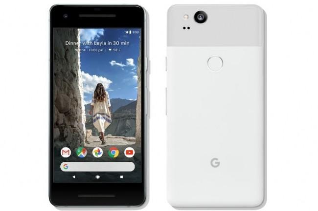 La technologie POLED utilisée pour le Pixel 2 XL cause des soucis d'images fantômes à Google. (Crédit : D.R.)