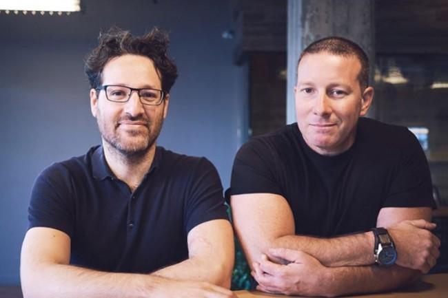 Les cofondateurs de Testim sont Oren Rubin (CEO) et Shahi Shoham (président et COO). crédit : Testim