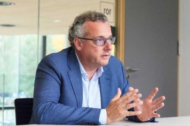 Jean-Christophe Laissy, DSI groupe de Veolia, a mis en place une équipe de trois FinOps au sein de la Digital Factory de l'entreprise. (crédit : Alexia Perchant)