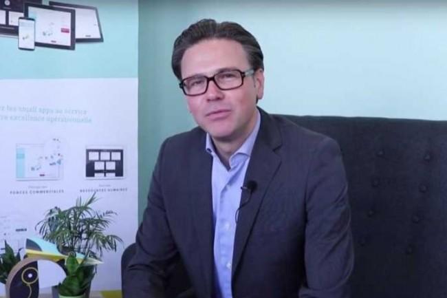 Alban Duron, directeur marketing de JCDecaux, insiste sur l'importance de la datavisualisation cartographique. (crédit : D.R.)