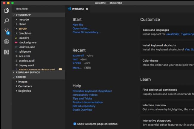Visual Studio Code 2018 est disponible sur le site web de l'éditeur. (Crédit D.R.)