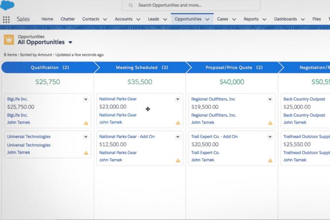 Avec Essentials, Salesforce veut séduire les PME-PMI mais également les TPE. (Crédit D.R.)