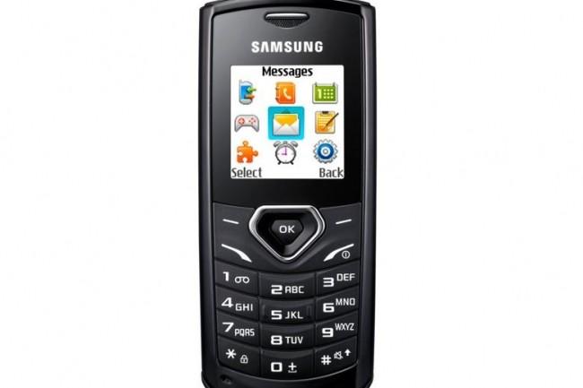 Le GT-E1170 fait partie des mobiles de Samsung qui ne seront plus supportés sur le réseau de l'opérateur. (crédit : D.R.)