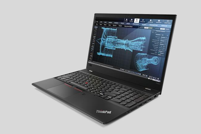 Sobre et efficace, la ThinkPad P52s de Lenovo conserve le design traditionnel des produits issus du rachat de l'activité PC d'IBM. (Crédit Lenovo)