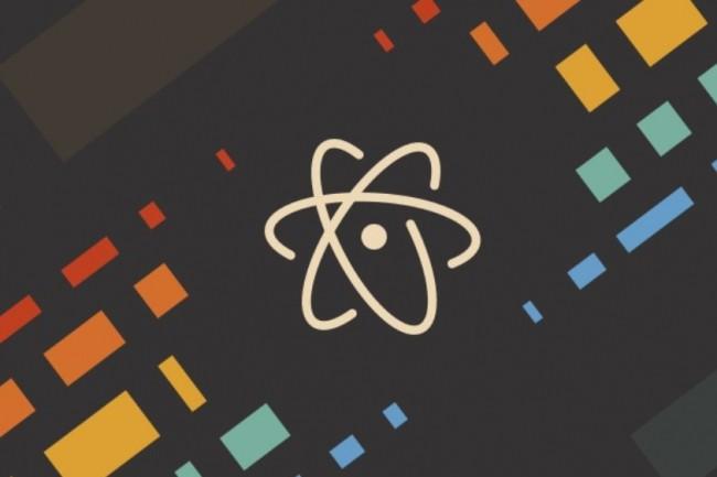 L'environnement de développement intégré Atom hérite d'une fonction de partage de code temps réel avec Teletype. (crédit : GitHub)