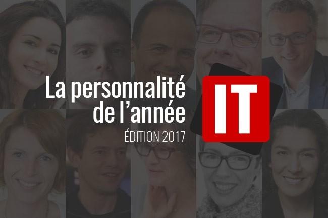 Qui sera élue personnalité IT de l'année : réponse le 2 janvier 2018. (crédit : D.R.)