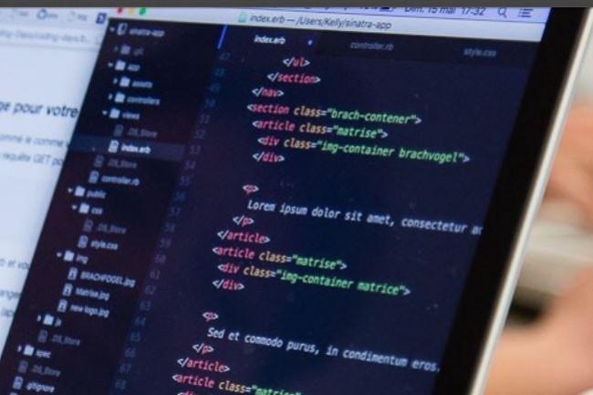 Coding Days propose des formations accessibles à tous pour apprendre à coder. Crédit. D.R.