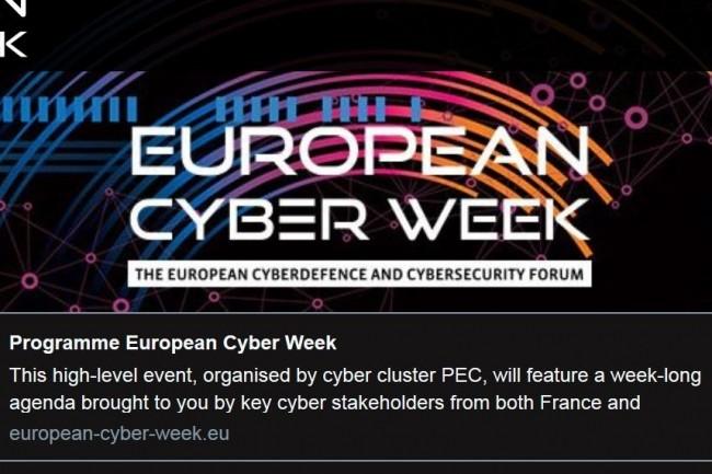 La Bretagne accueille pour la seconde fois l'European Cyber Week. Crédit. D.R.