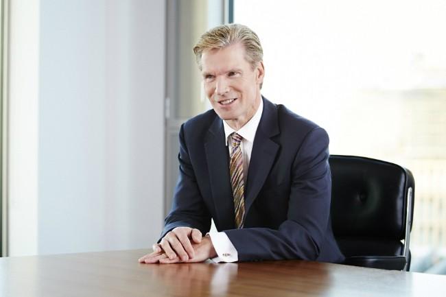 Stephen Kelly, CEO de Sage : « Lancée en octobre 2017, Sage Business Cloud est la plateforme qui nous permettra d'accélérer. » (Crédit Sage)