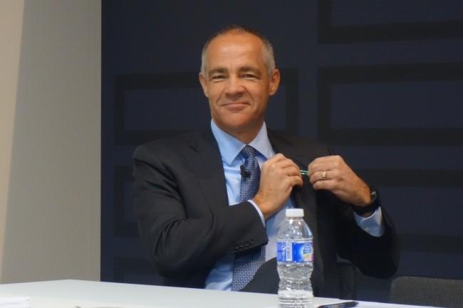 Ric Lewis, senior vice-président et directeur général de l'entité Software Defined & Cloud de Hewlett Packard Enterprise. (Crédit : MG/LMI)