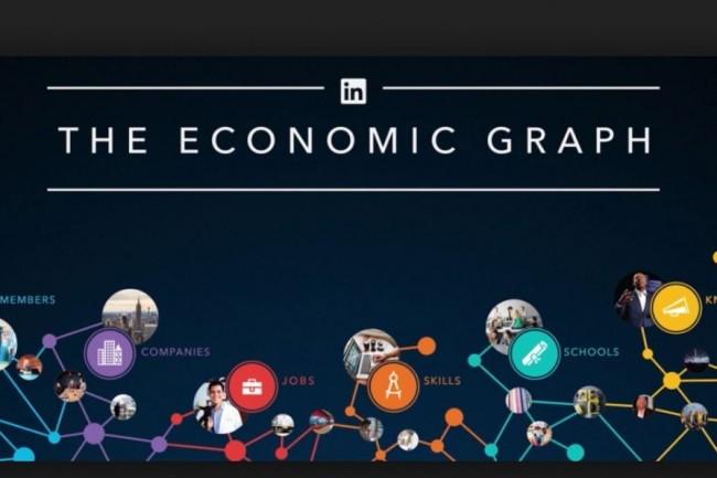 L'outil cartographique Economic Graph de Linkedin permettra de mieux connaitre le marché de l'emploi en Hauts-de-France. Crédit. D.R.