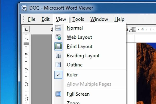 Microsoft a décidé de ne plus supporter les visionneuses qui permettaient d'ouvrir pour consultation des documents Office. (Crédit D.R.)