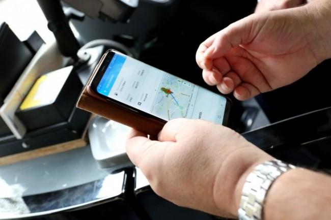 L'une des 4 app lancées par Michelin solutions : MyTraining, pour la formation des chauffeurs de poids lourds (crédit photo : Michelin).