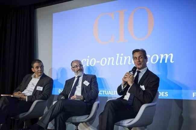 Lors de la conférence « Cybersécurité : nouvelles menaces, nouvelles solutions » organisée par CIO le 21 novembre 2017 à Paris, Mahmoud Denfer (Vallourec),  José Perez (Allianz France) et Henri d'Agrain (Cigref) ont témoigné sur la deuxième table ronde (d