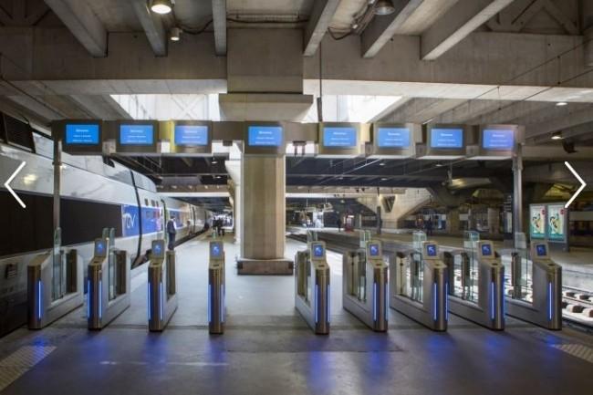 L'accueil-embarquement des TGV à la Gare Paris-Montparnasse (crédit : SNCF)