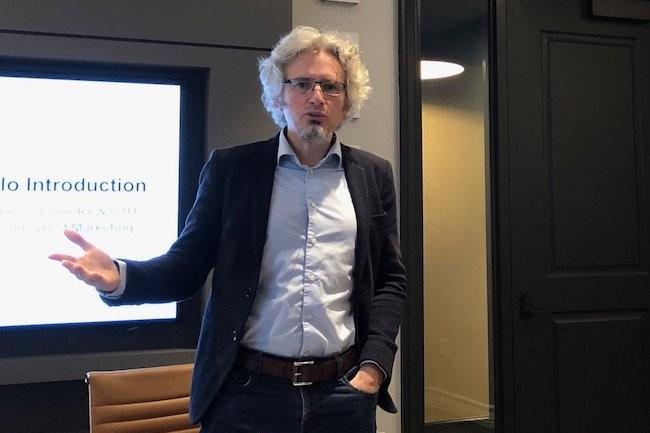 Ancien directeur de l'ingénierie logicielle d'Isilon, Peter Godman a cofondé Qumulo en 2015 et dont il est aujourd'hui le CTO. (Crédit S.L.)