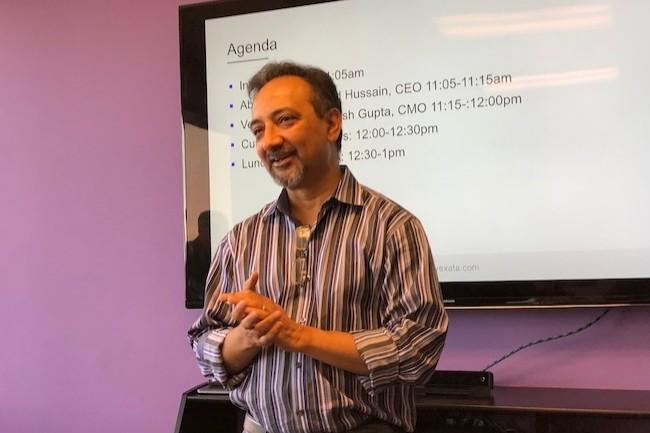 Ancien d'EMC et VMware, Zahid Hussain a travaillé dans l'ombre pendant 3 ans avant de dévoiler la solution de stockage flash hautes performances de Vexata. (Crédit S.L.)