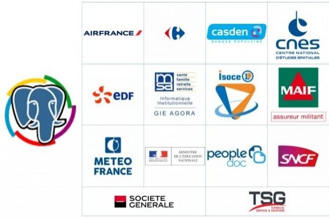 De grands comptes français exigent de pouvoir utiliser PostgreSQL avec leurs progiciels.