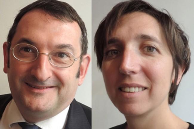 Didier Long et Claire Gourlier, cofondateurs d'Euclyd, ont pris la direction de Kea-Euclyd. (Crédit : D.R.)