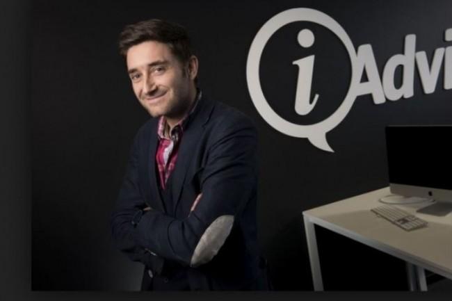 La start-up nantaise iAdvize pilotée par Julien Hervouët devrait voir ses effectifs croître de 60% d'ici lan prochain. (Crédit : D.R.)