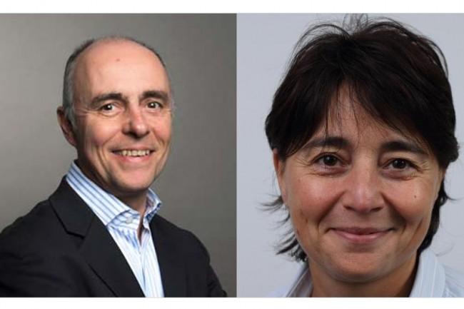 Bruno Flandrin a été nommé directeur de la filiale France de Digora et Patricia Thielois, directrice marketing et communication du groupe. (Crédit D.R.)