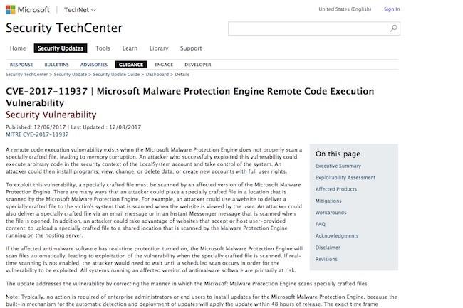 Microsoft corrige discrètement une faille de sécurité dans