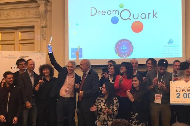 Le pôle de compétitivité Finance innovation a remis son label à 40 fintech et le prix 2017 à Dreamquark. (Crédits : Finance innovation)