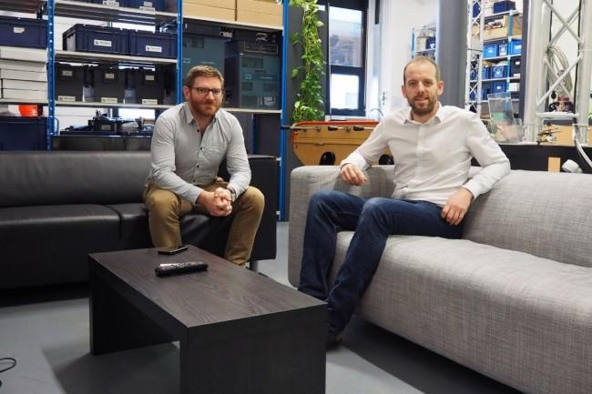 L'opérateur télécoms Trinaps a été cofondé en 2007 par Gauthier Douchet (à droite) et Fabien Hazebroucq (Crédit. D.R.)