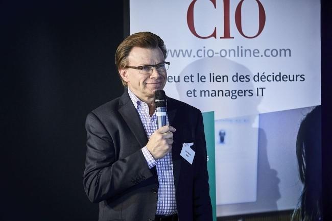 Le grand témoin de la matinée Cybersécurité de CIO a été Alain Bouillé, Directeur Sécurité des SI Groupe de la Caisse des Dépots et Président du Cesin. (crédit : Bruno Levy)
