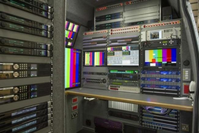 Depuis l'intérieur d'un camion BT, des données sont envoyées à un logiciel analytique. (crédit : BT)