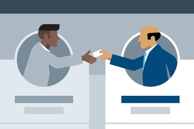 Avec Linkedin, il est possible de filtrer ses contacts pour décider avec qui et comment échanger. (Crédit D.R.)