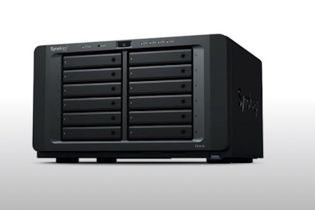 Le NAS FS1018 est annoncé à 1317€ HT (Crédit : Synology).