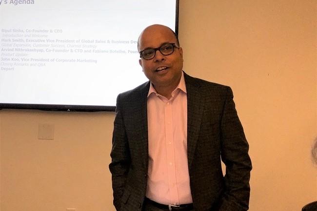 « Tous nos concurrents traditionnels ont aujourd'hui une killer stratégie pour contrer Rubrik », nous a indiqué Bipul Sinha, CEO de Rubrik. (Crédit S.L.)