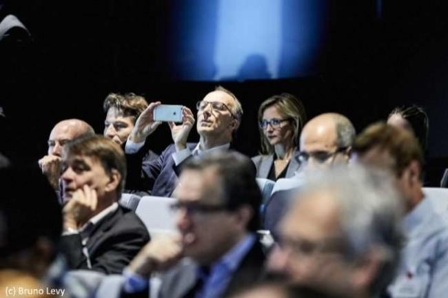 Les DSI débattent des avantages et inconvénients des méthodologies agiles, comme ici lors de la conférence CIO du 13 juin dernier (photo Bruno Lévy).