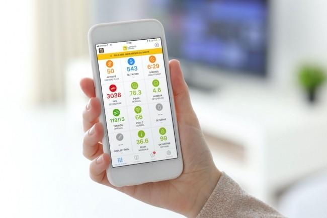 L'app mobile La Poste eSanté permettra notamment de collecter les données issues de dispositifs médicaux connectés, à partager avec les professionnels de santé. (crédit : La Poste)