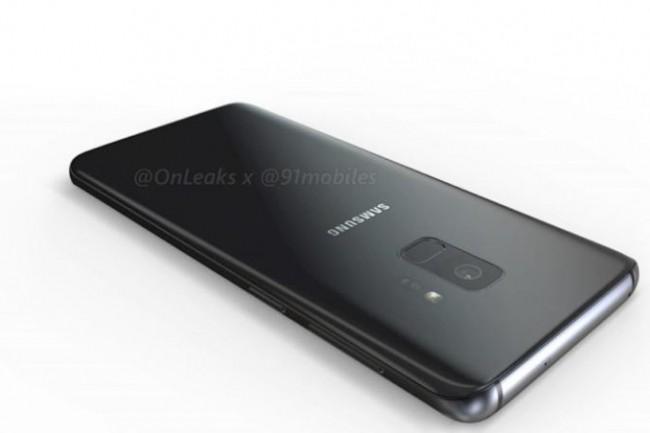 D'après cette image fuitée, le Galaxy S9 a l'air très semblable au S8… Rien de mal à cela! (Crédit: 91mobiles)