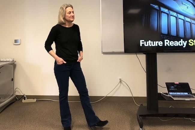 Faye Pairman est devenue CEO de Panasas en 2010. (Crédit S.L.)