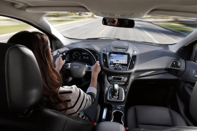 Qualcomm et Ford comptent explorer les usages de la technologie C-V2X dans les véhicules autonomes. (Crédit Ford)