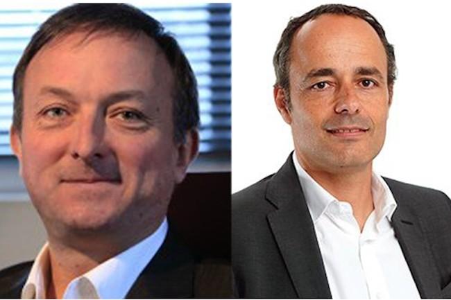C'est Pieric Brenier (à droite) qui assurera la présidence de la nouvelle entité. Gilles Perrot (à gauche) en deviendra le directeur général (Crédit : Quadria).
