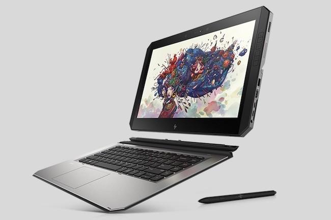 HP se montre particulièrement innovant sur le marché du PC avec par exemple ce ZBook x2. (Crédit HPi)