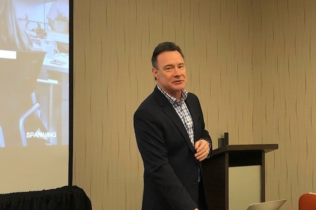 CEO et cofondateur de Spanning, Jeff Erramoupse a organisé la scission d'avec Dell EMC. (Crédit S.L.)