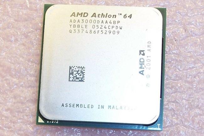 Les puces Athlon et Sempron d'AMD n'ont pas du tout apprécié la première mise à jour Windows censée contrer la faille Meltdown. (Crédit D.R.)