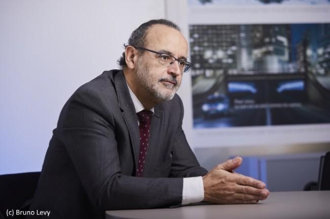 Le DSI d'Enedis, Jean-Claude Laroche réorganise sa direction pour être en avance sur les démarches agiles (photo Bruno Lévy).