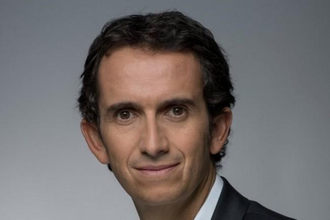 Alexandre Bompard, PDG de Carrefour livre un plan digital qui manque de précisions (photo Twitter).